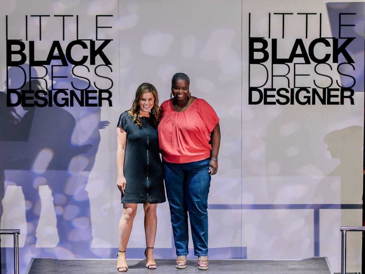 Molly Stone, Kitty Dupas at Little Black Dress Designer 2017