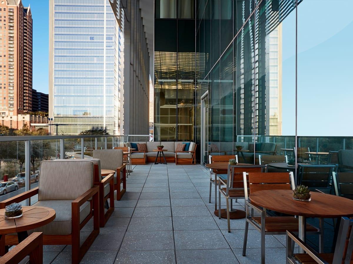 Biggio's terrace
