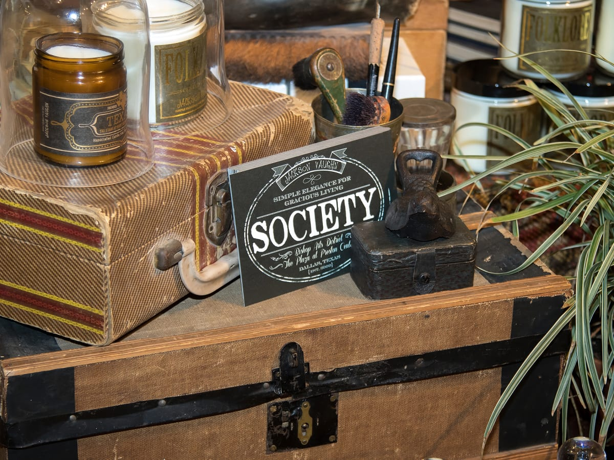 Society candles, Dallas Stylemaker 2016 Reveal Party