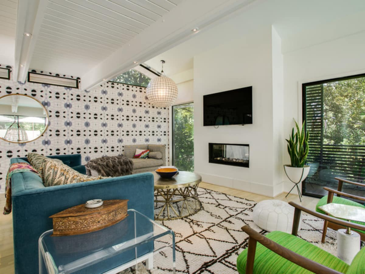 Houzz Dallas house home sunroom Highland Park