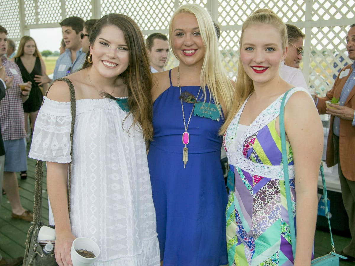 Natalie Monger, Heather Hall, and Layne Anderson