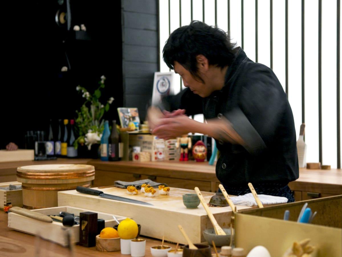 Otoko chef Yoshi Okai
