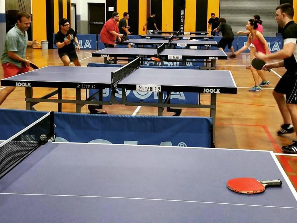 Pong Club Austin ping pong table tennis