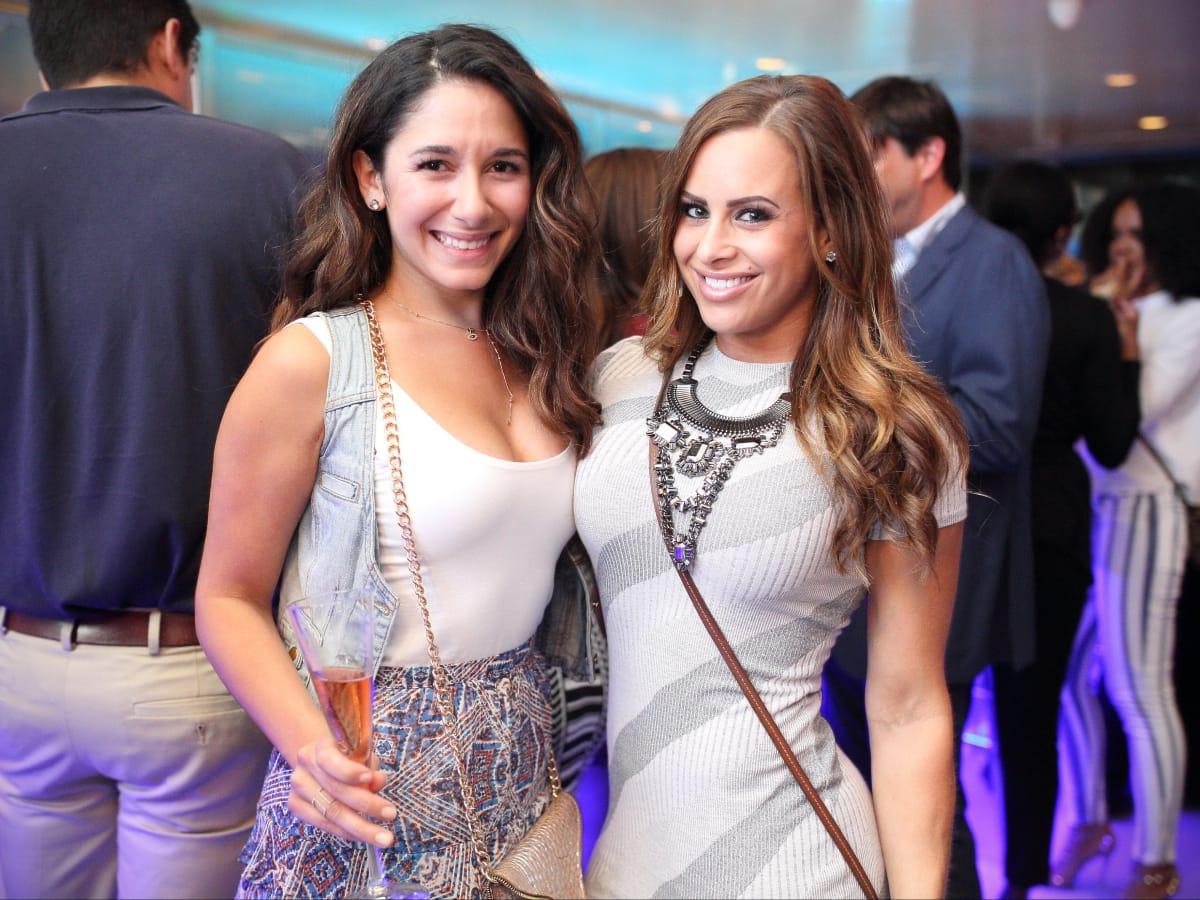 Bar Bleu opening, 6/16, Shireen Hadi, Alexis Paige