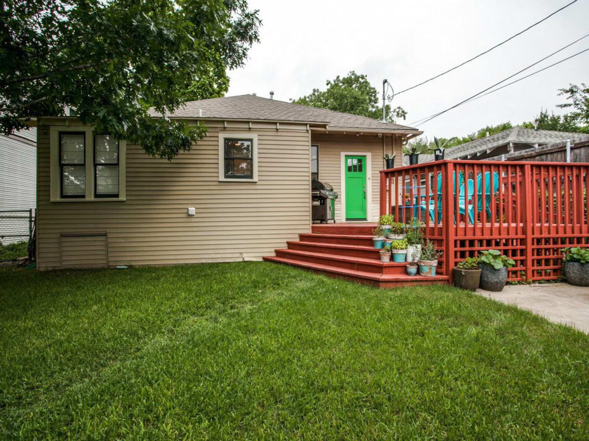 110 North Edgefield Backyard