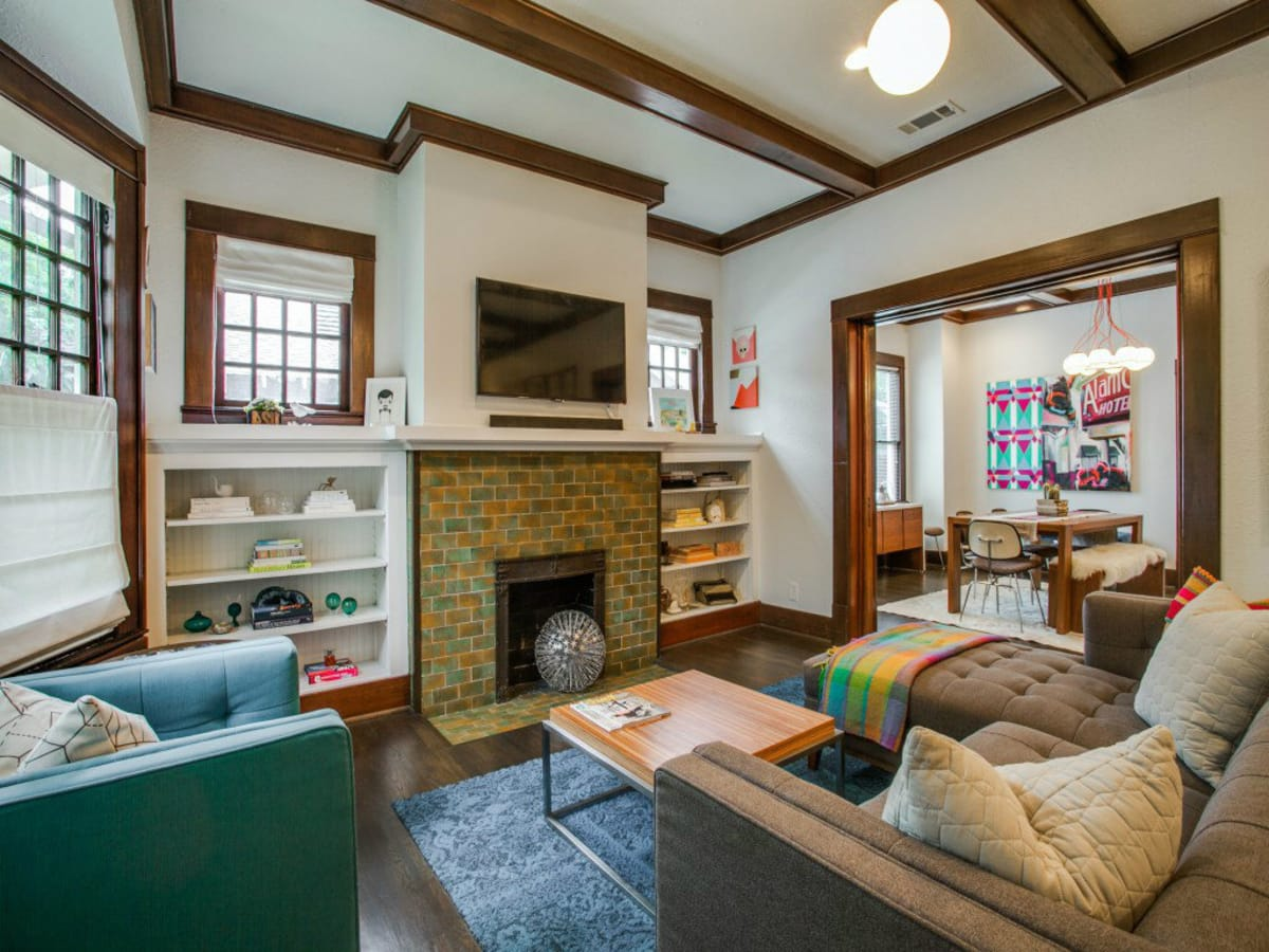 110 North Edgefield Living Room 2