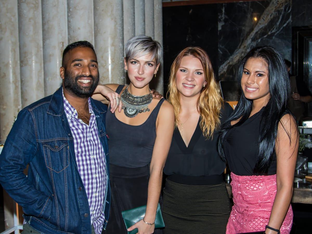 Jacob Zachariah, Paige Rommel, Bethany Gentry, Trinity Slater