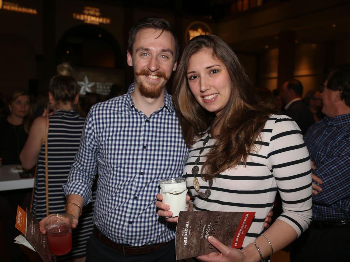CultureMap Tastemaker Awards 2016 at Bob Bullock Museum Matt Weatherly Rachael McDonald
