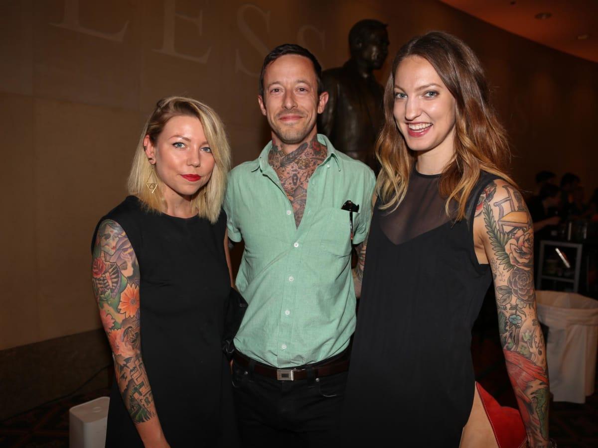 CultureMap Tastemaker Awards 2016 at Bob Bullock Museum Stacey Hubrath Josh Arseneau Emily Arseneau