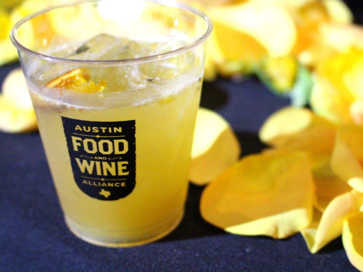 Official Drink of Austin 2016 Central Standard cocktail