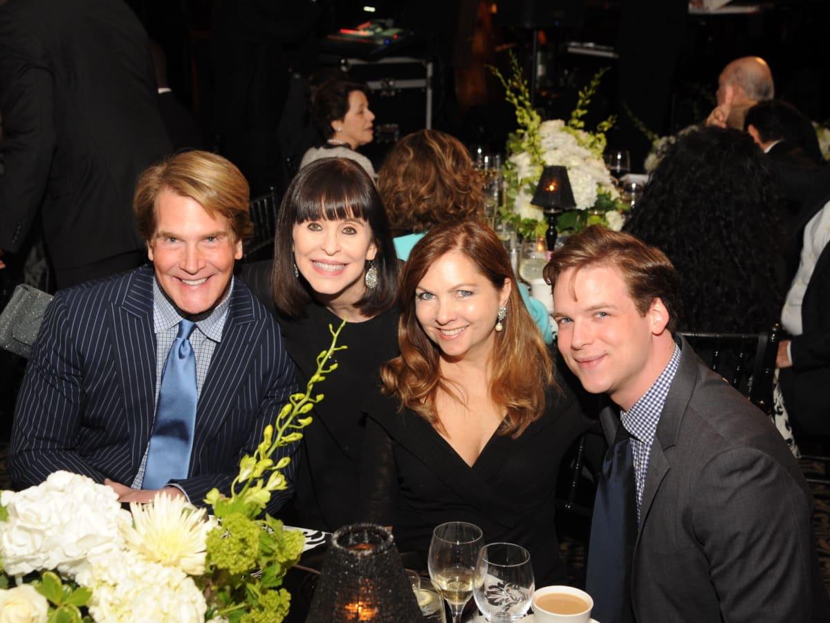 Houston Arts Alliance dinner 5/16, George Lancaster, Sandra Porter, Lauren Rottet, Cameron Springer