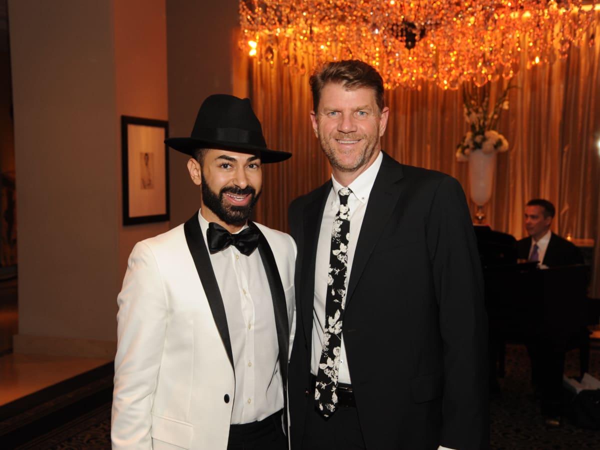 Houston Arts Alliance dinner 5/16, Fady Armanious, Bill Baldwin