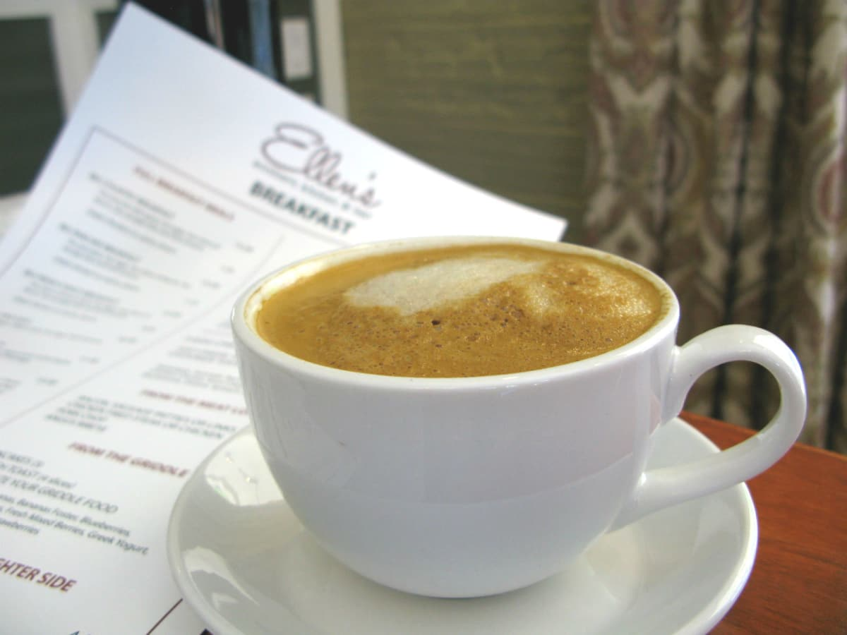 Ellen's Southern Kitchen latte