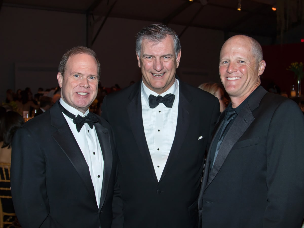 Alan Peppard, Mayor Mike Rawlings, Will Rose