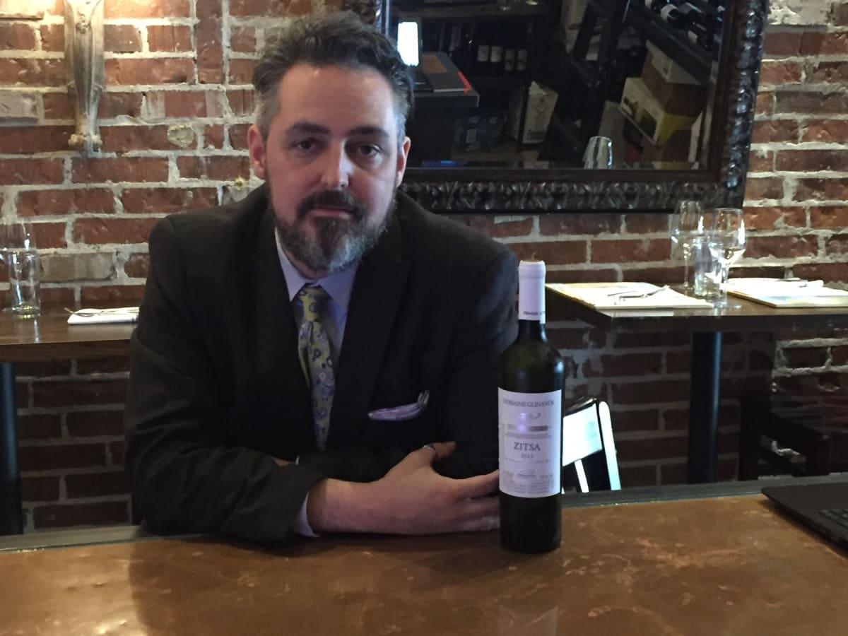 Evan Turner Helen Greek Tastemaker Awards wine