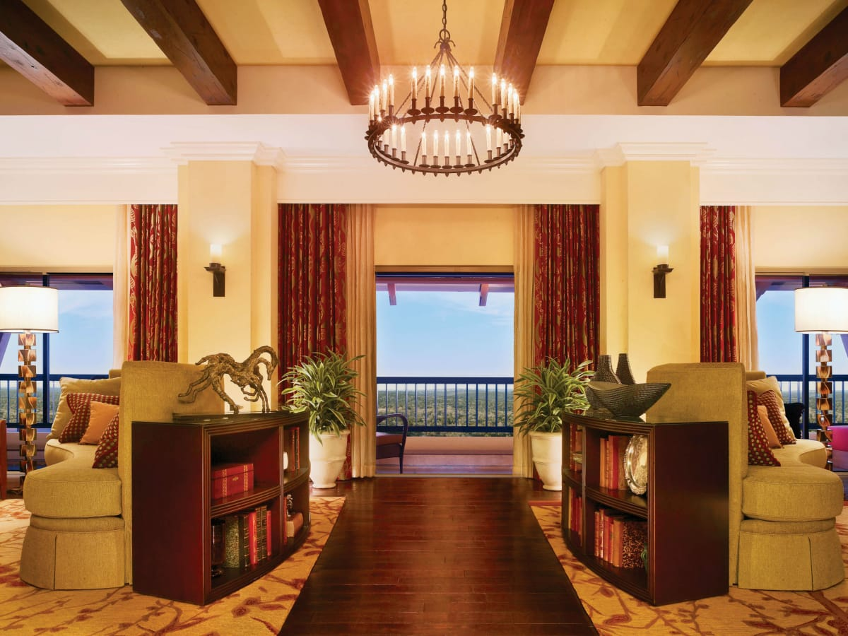 Presidential suite at JW Marriott San Antonio Hill Country