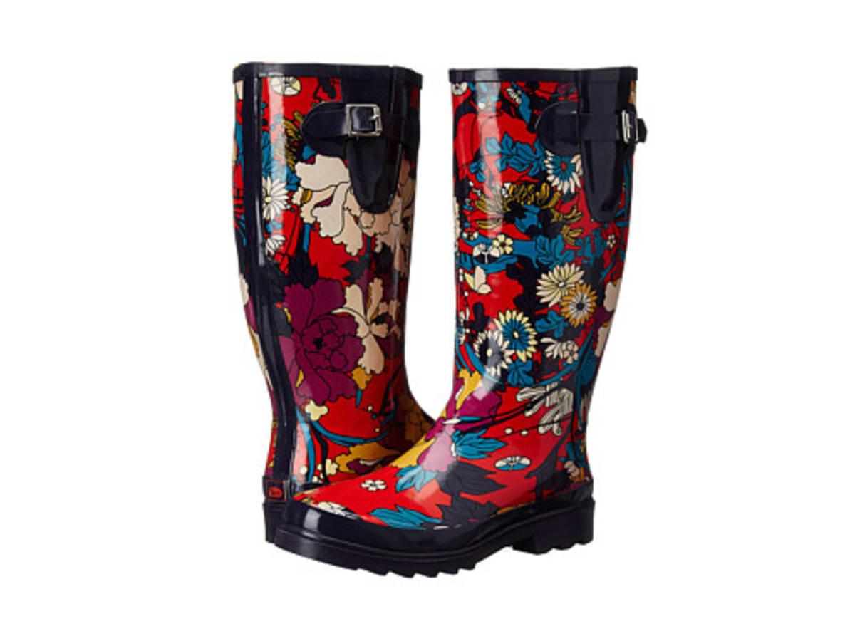 Rain Boots, Sakroots Rhythm, $49
