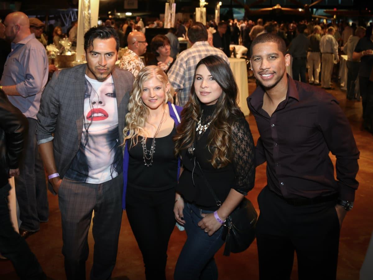 Arturo Mareno, Christina Wiley, Lorena Decanini, LaByron Thomas