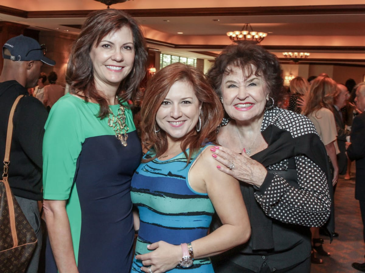 Houston, More Than You Can Imagine luncheon, April 2016, Angie Roberts, Donae Chramosta and Warner Roberts
