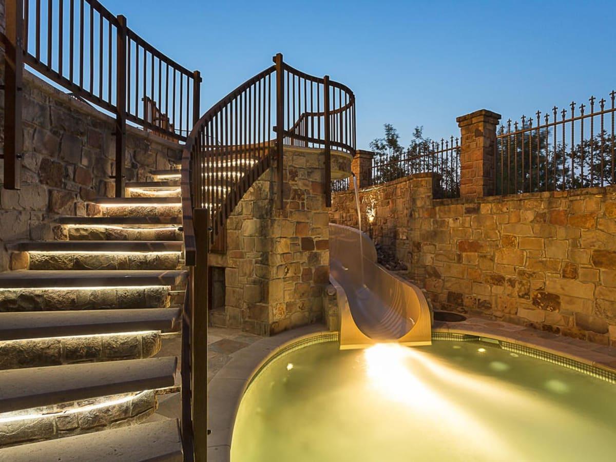 Austin home house 12006 Pleasant Panorama View 78738 Jeff Kent April 2016 pool slide