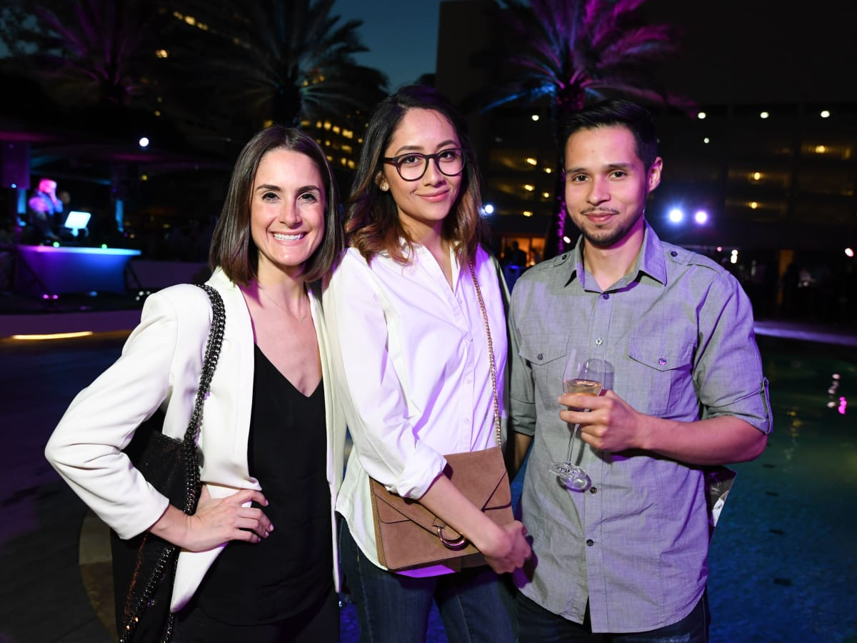 Four Seasons Spa party, April 2016, Jenny Weber, Jenny Beltran, Erick Beltran