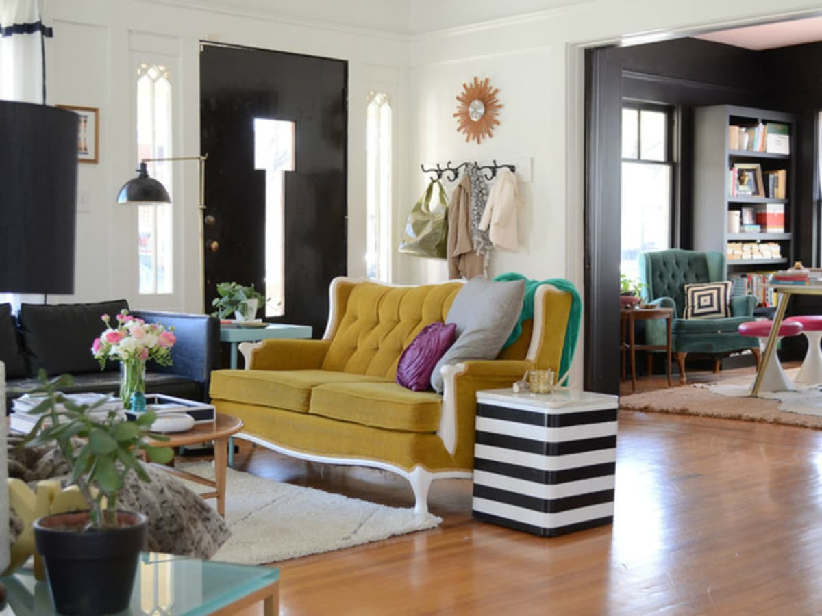 Houzz Texas style thrift store finds