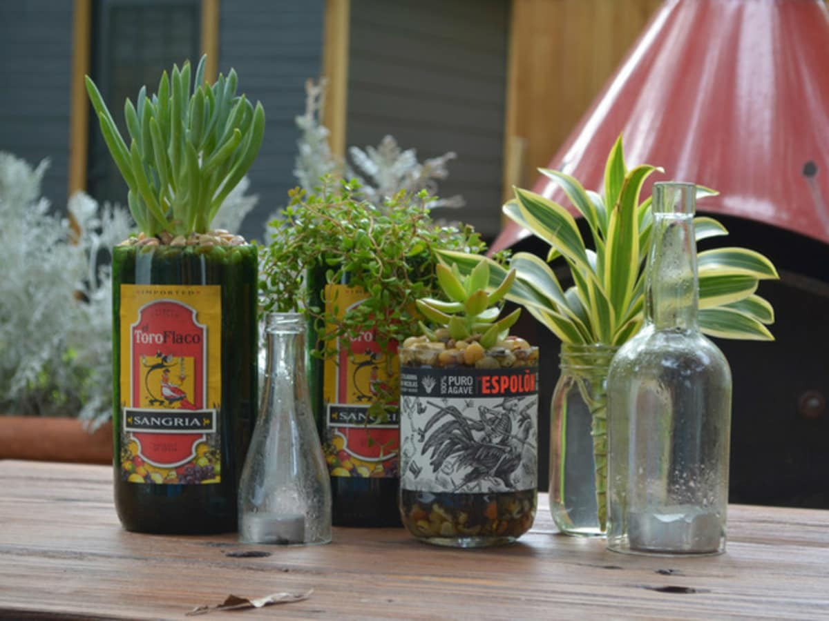 Houzz Texas style DIY vases and containers
