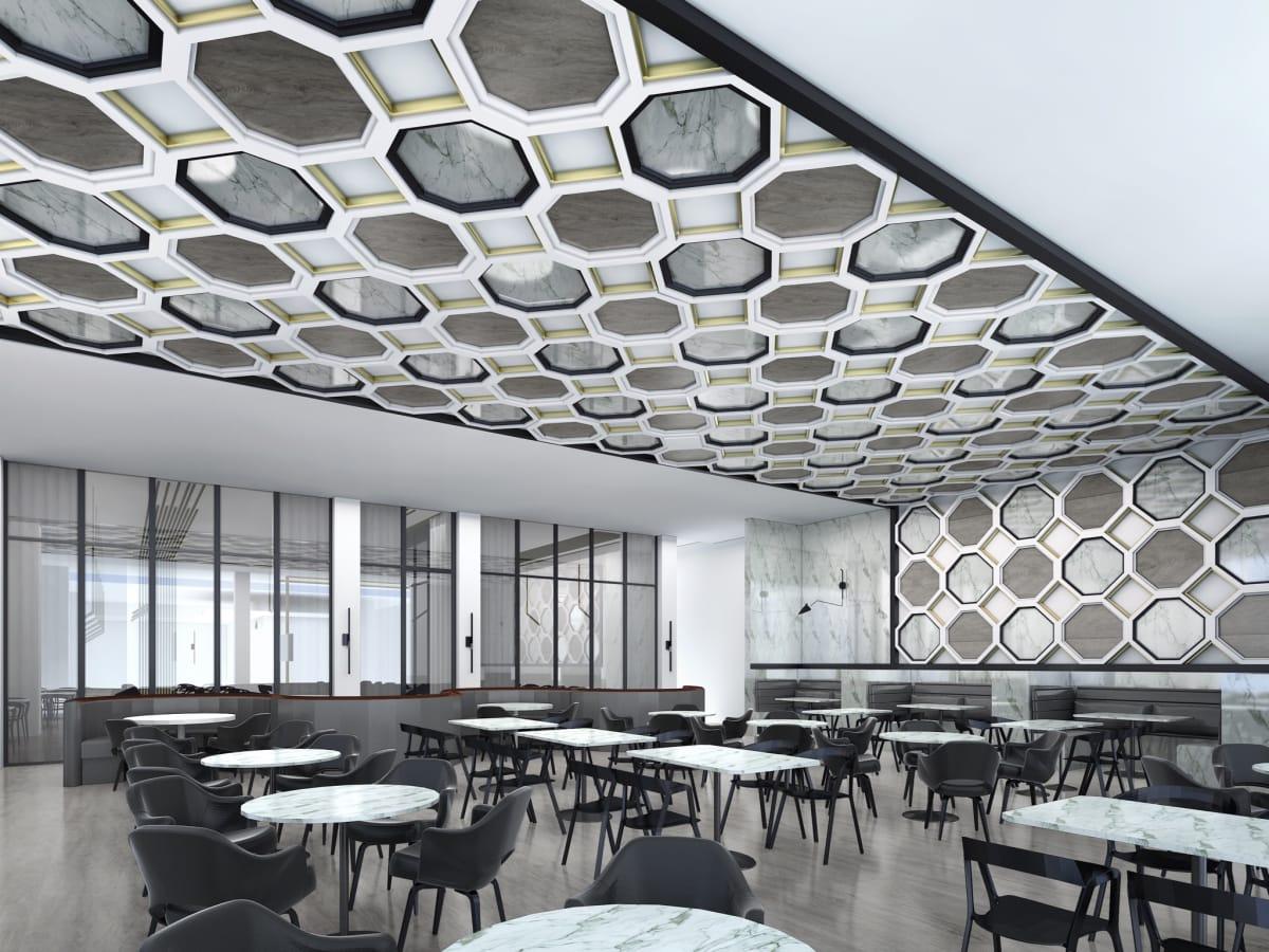 51Fifteen rendering dining room