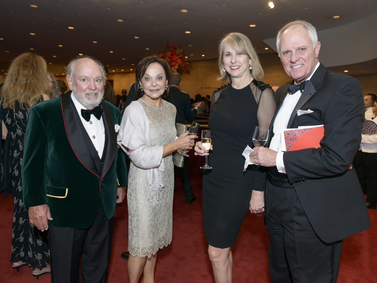 Symphony Wine Dinner, April 2016, John Kelsey, Jane DePaolo, Susan Hansen, Dick Hansen