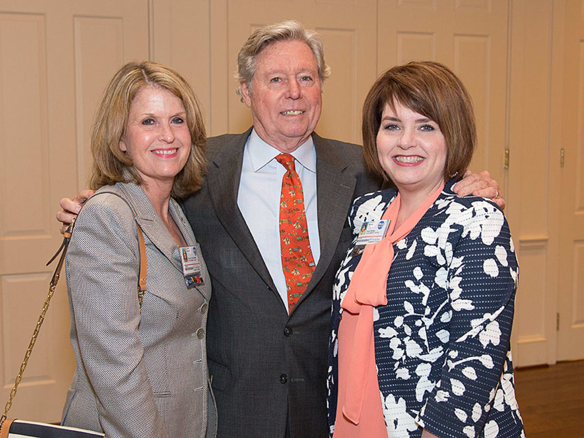 VEPS Luncheon, March 2016, Susan P. French, Rick Reitz, Frances Snipes