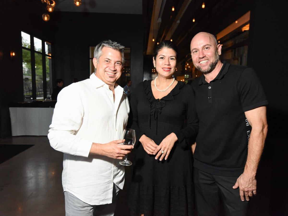 Black & White party, March 2016,  Hernan Garcia, Carol Alvarado, Paul Celis