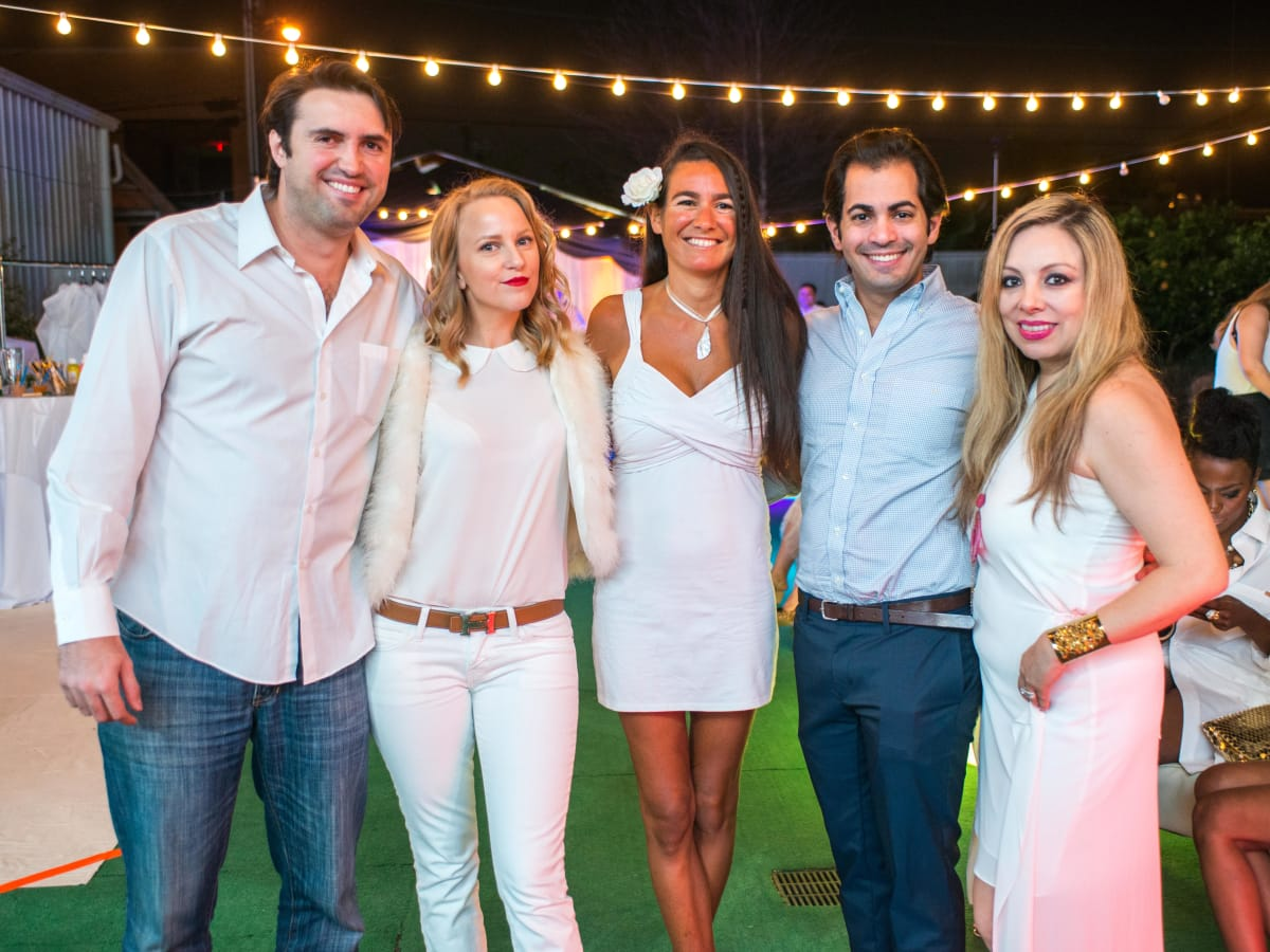 CultureMap Social, March 2016,  Daniel Puchot, Emily Cotton, Anne Burgot, Ahmed Alrani, Karen Lix