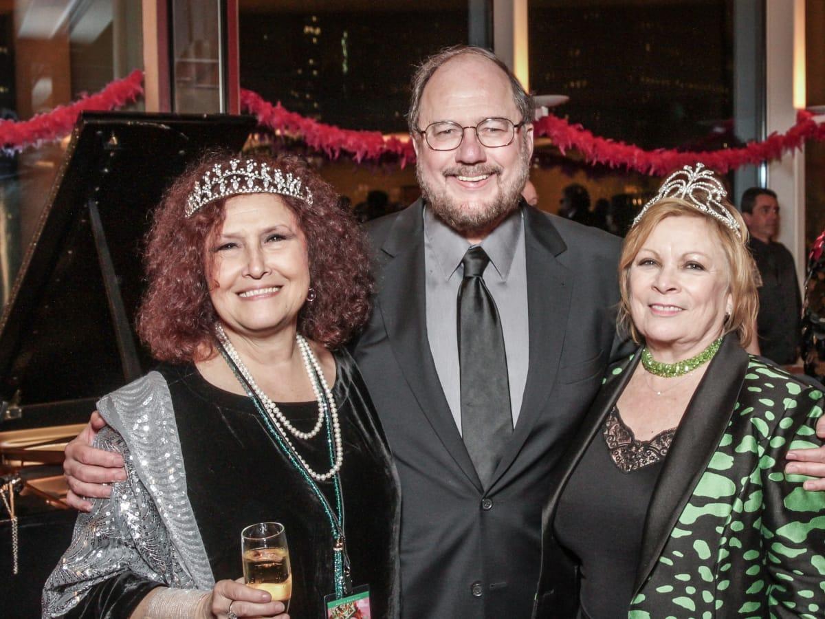 Melissa Manchester, Rupert Holmes, Sharon Vaughn at Sweet Potato Queens party