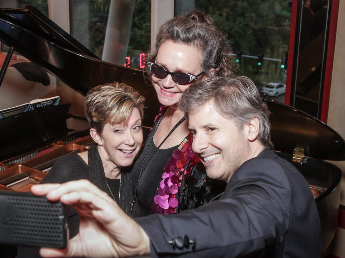Jill Connor Browne, Ernie Manouse at Sweet Potato Queens party