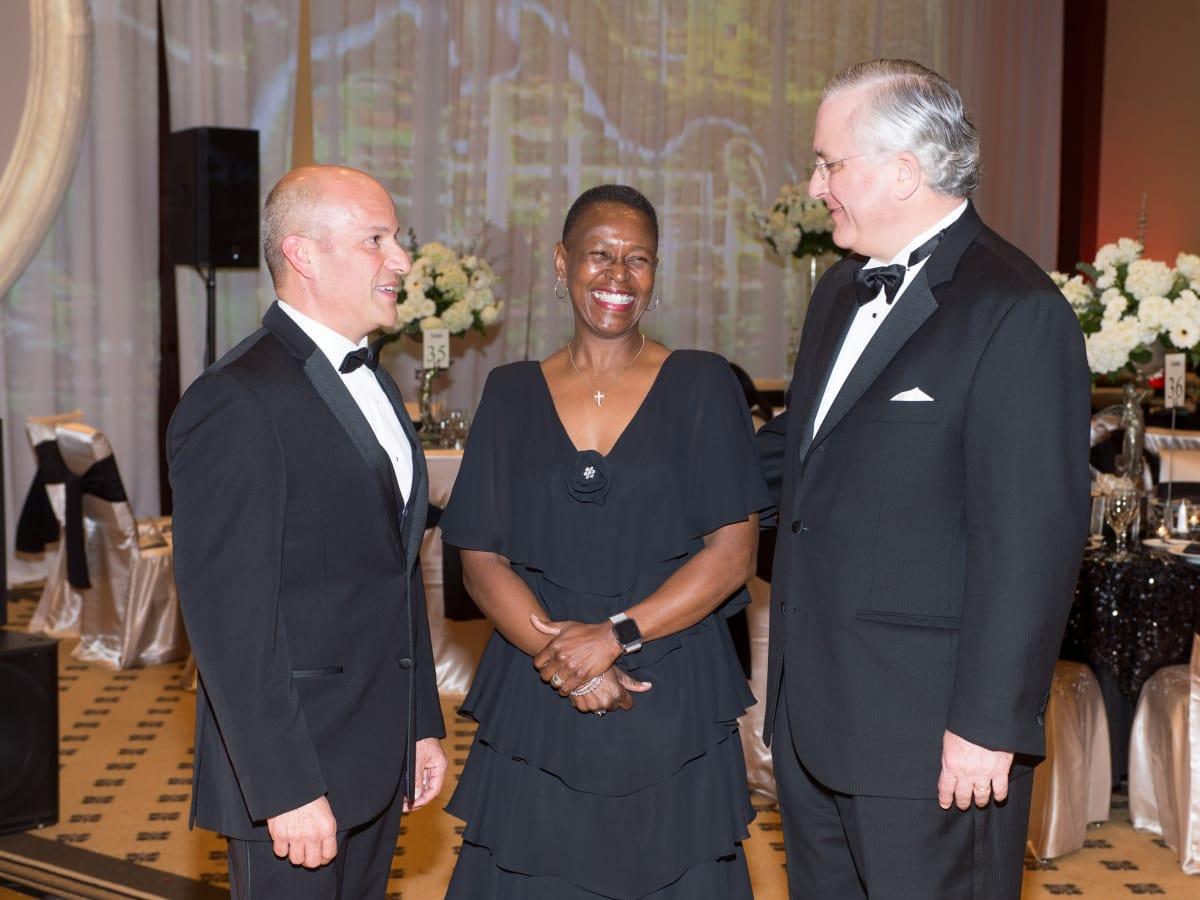 Covenant House Gala, March 2016, Greg Hernandez, Ronda Robinson, Randall Walker
