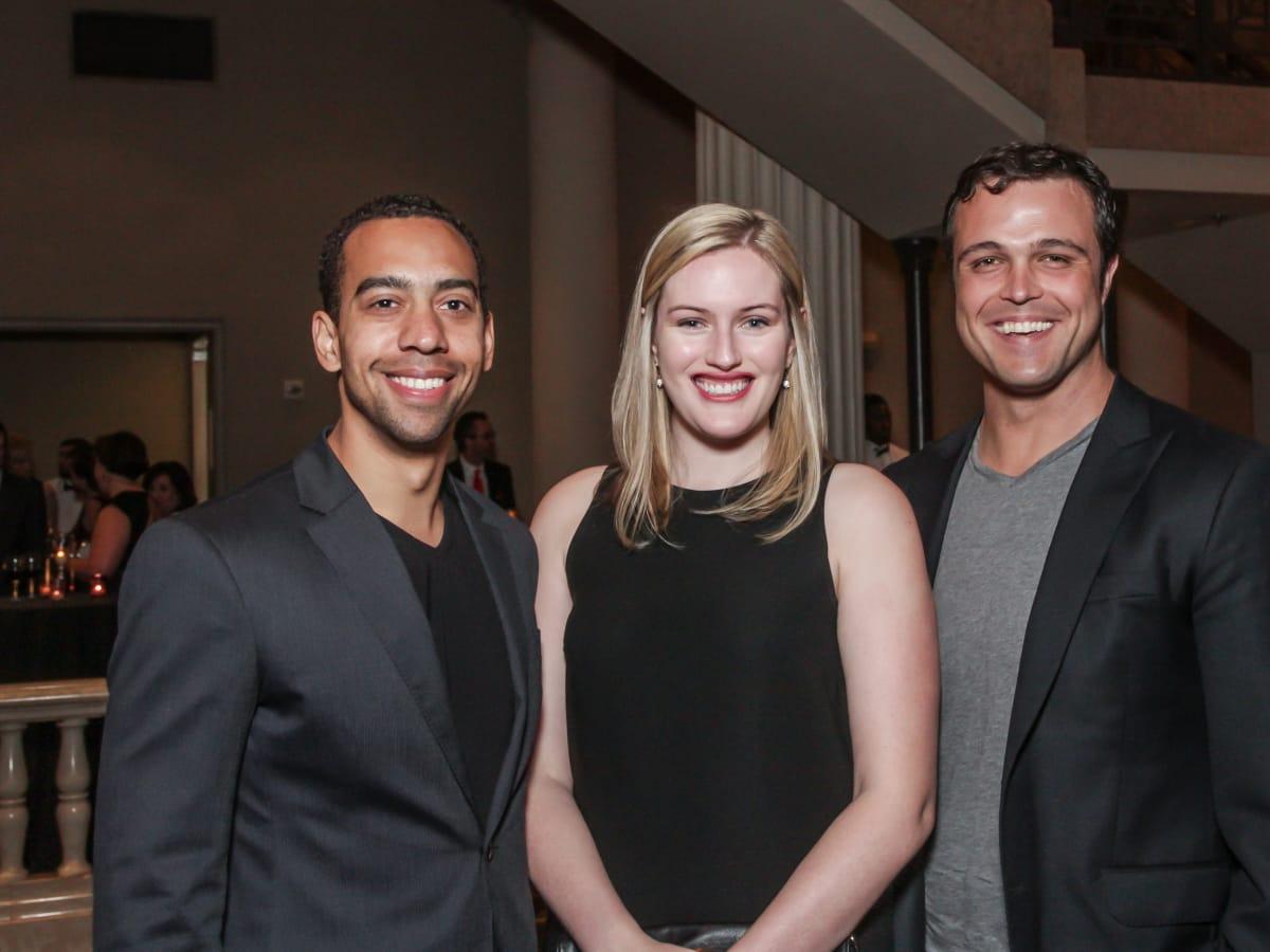 Lauren Gore, Sarabeth Peele, Richard Sexton at Club da Camera