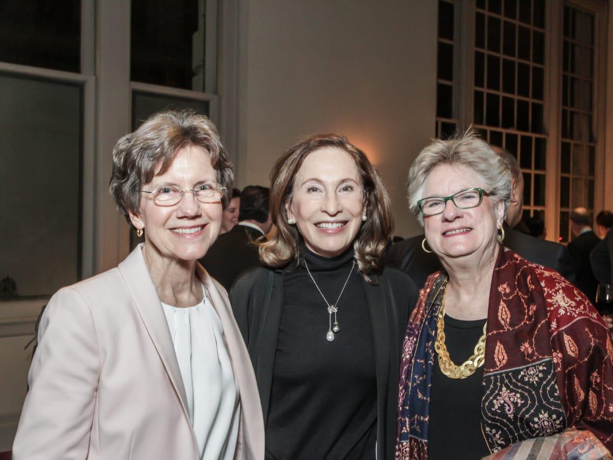 Beatrice Graham, Constance Holderer, Bettie Cartwright at Club da Camera