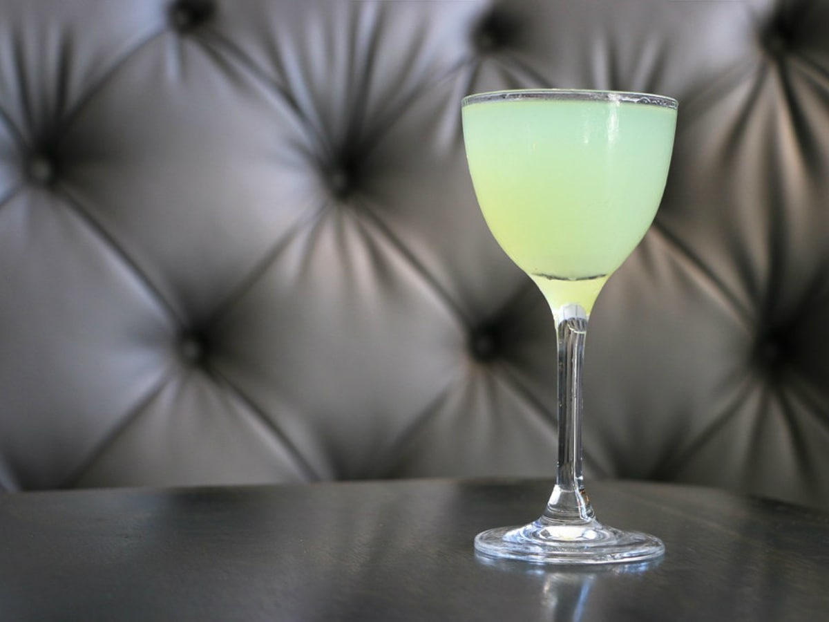 Stirred Last Word cocktail from Remedy