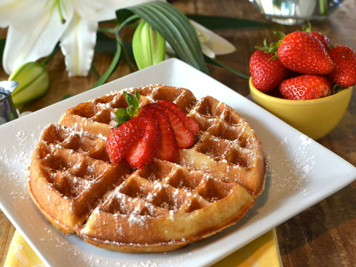 Guenther House waffle San Antonio