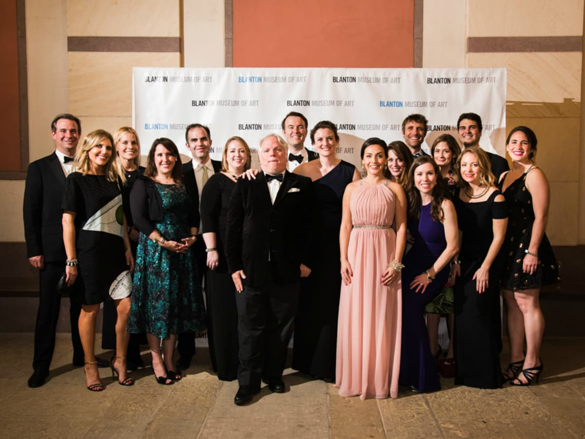 Blanton Museum Art on the Edge gala February 2016 host committee members