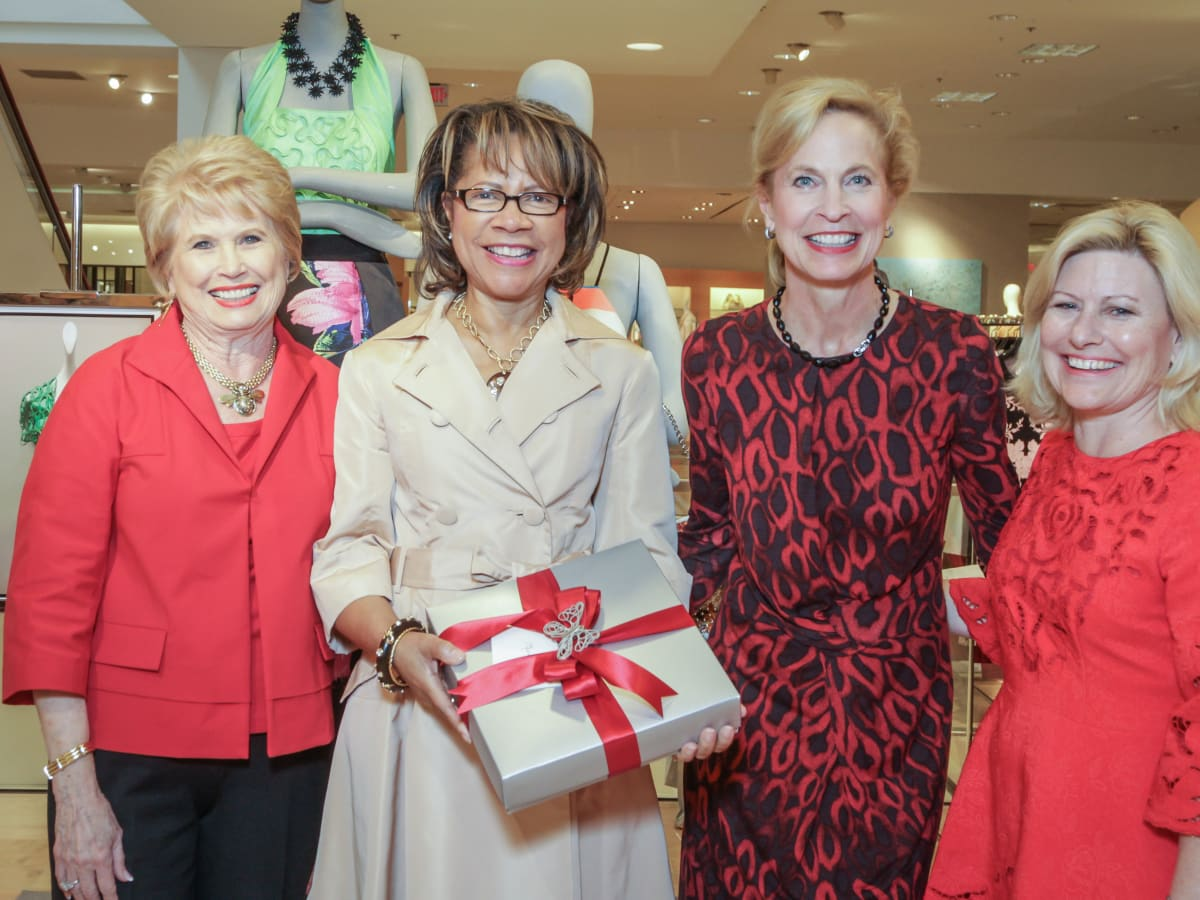March of Dimes Tea, Feb. 2016 Ginger Blanton, Merele Yarborough, Pam Sengelmann, Maureen Higdon