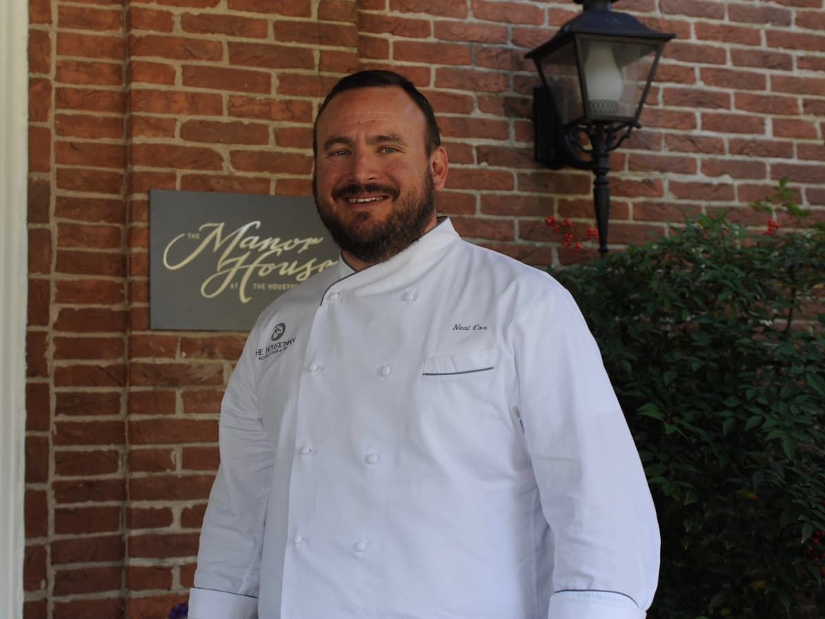 Manor House chef Neal Cox