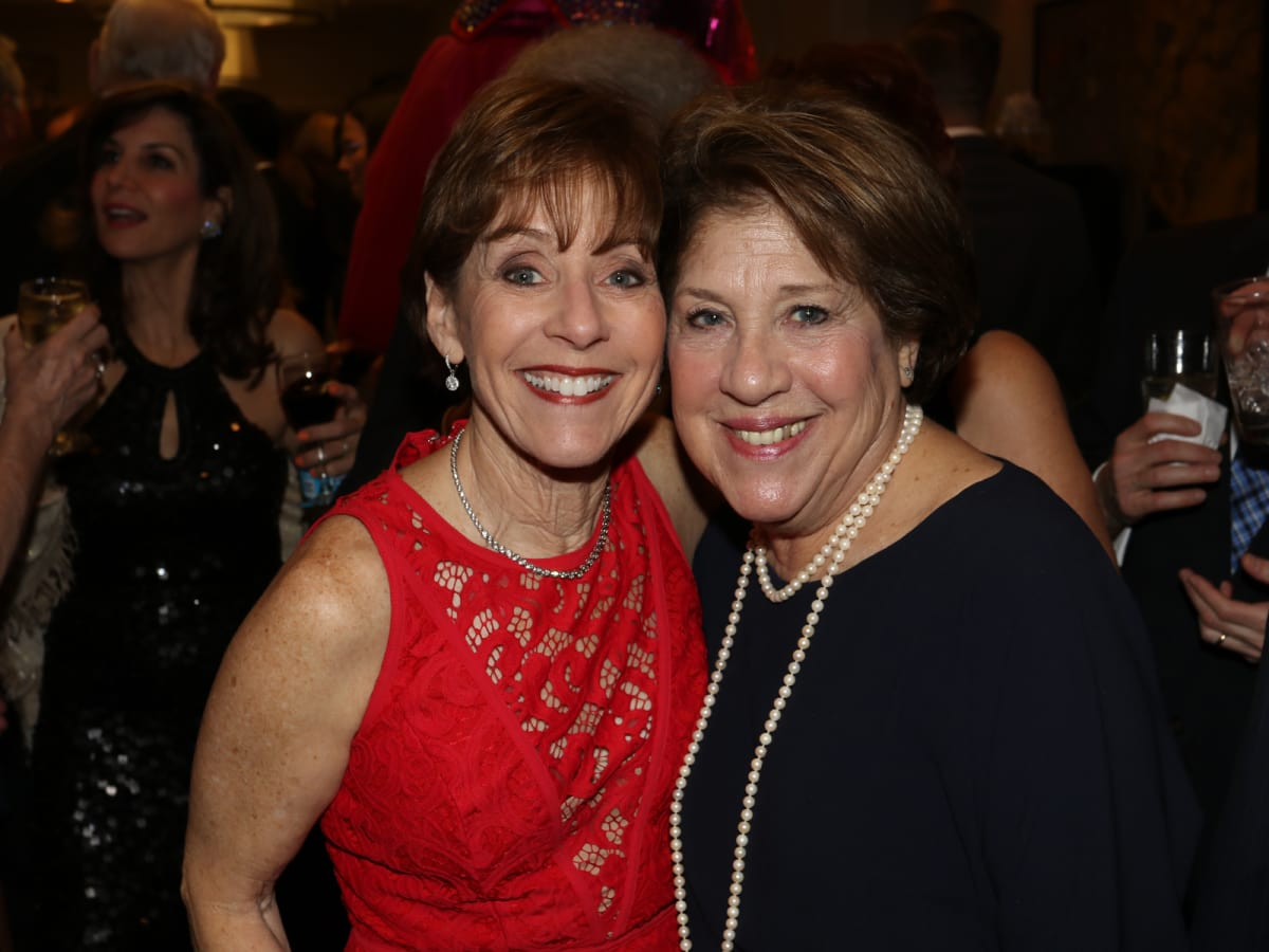 Seven Acres gala, Feb. 2016, Judy Yambra, Barbie Freedman