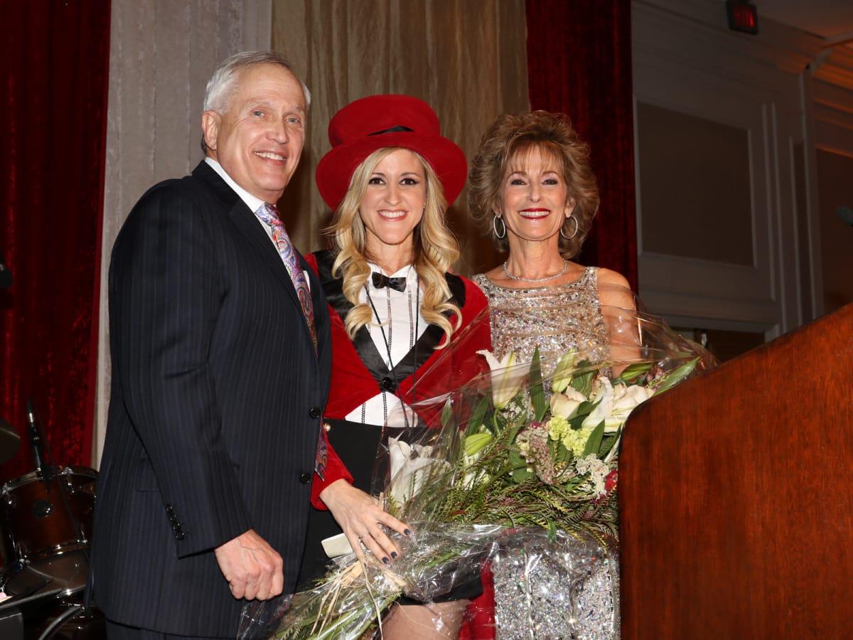 Seven Acres gala, Feb. 2016, Buster Freedman, Courtney Zubowski Haas, Karen Friedman