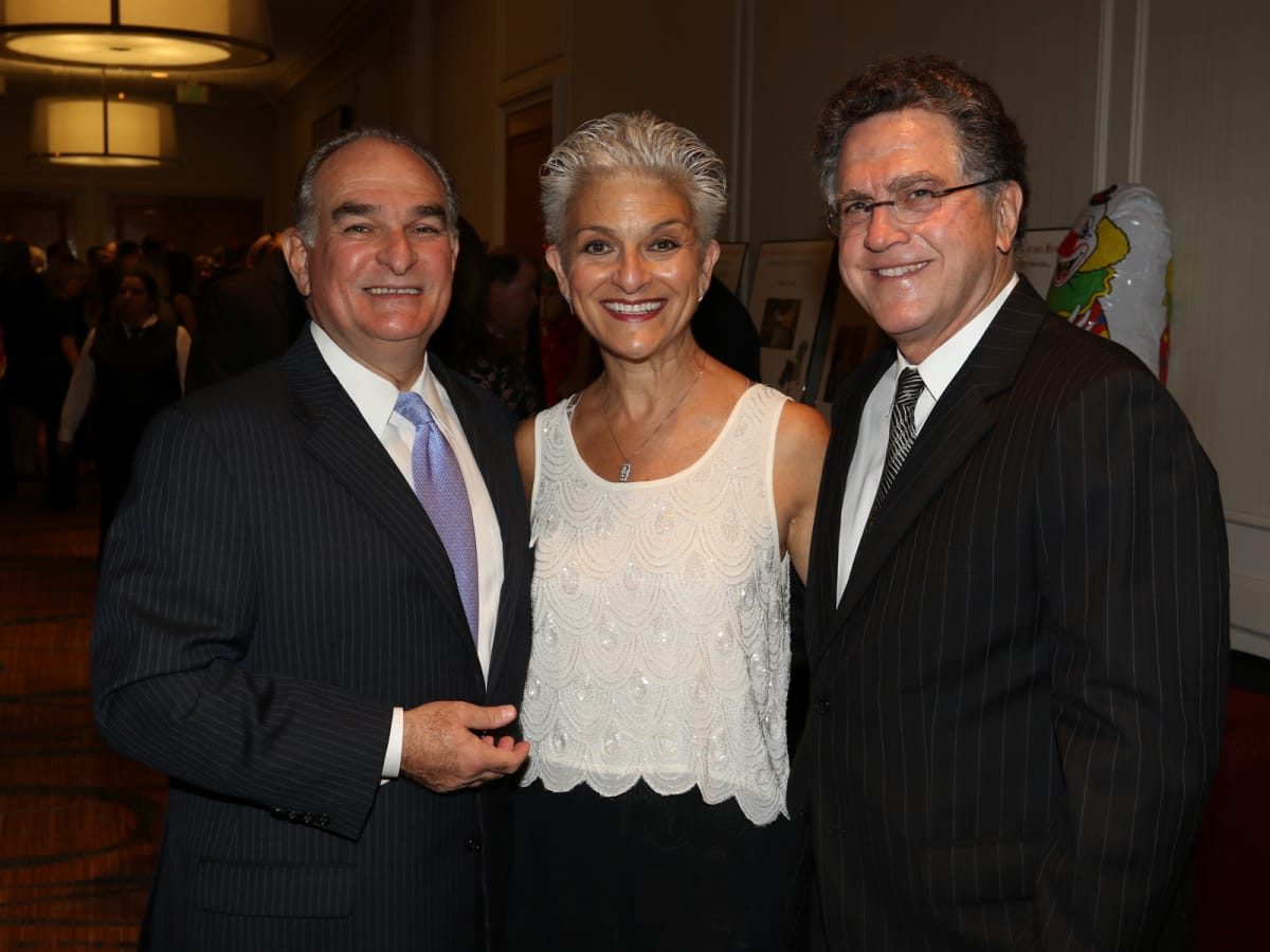 Seven Acres gala, Feb. 2016, David Morris, Susan Farb Morris, Martin Bronstein