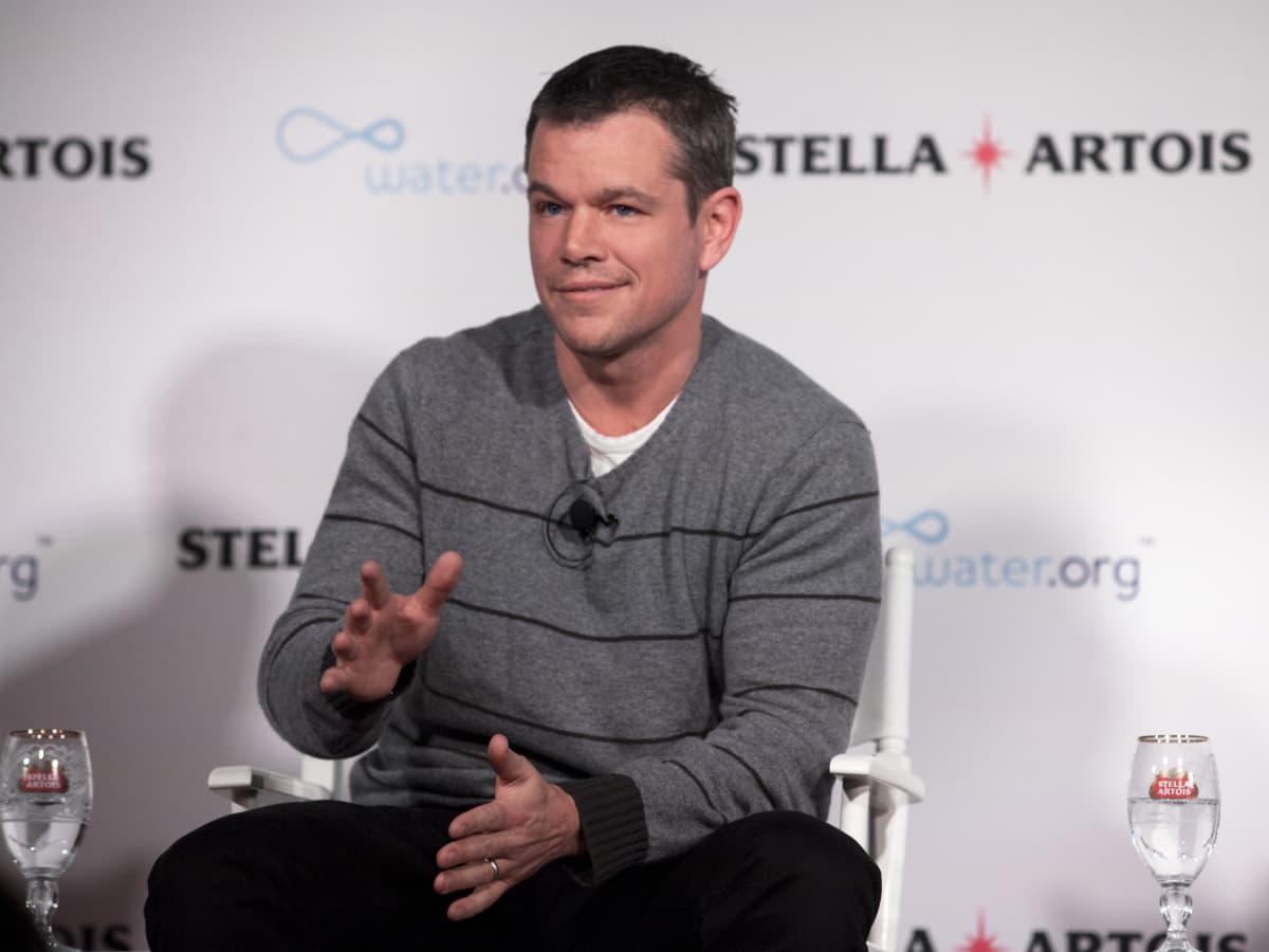 Matt Damon at Sundance Stella Artois event