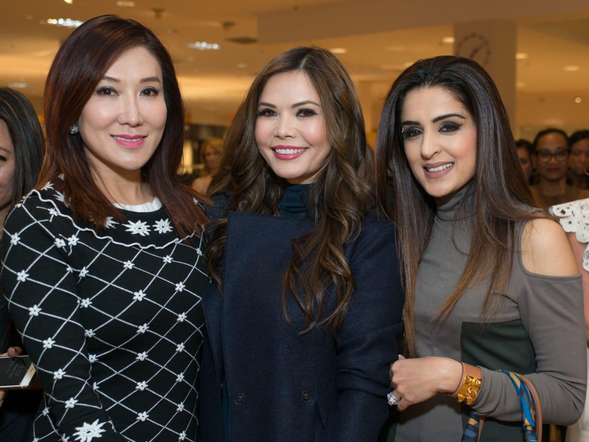 Best Dressed, Jan. 2016,  Mandy Kao, Amy Dichoso, Sneha Merchant