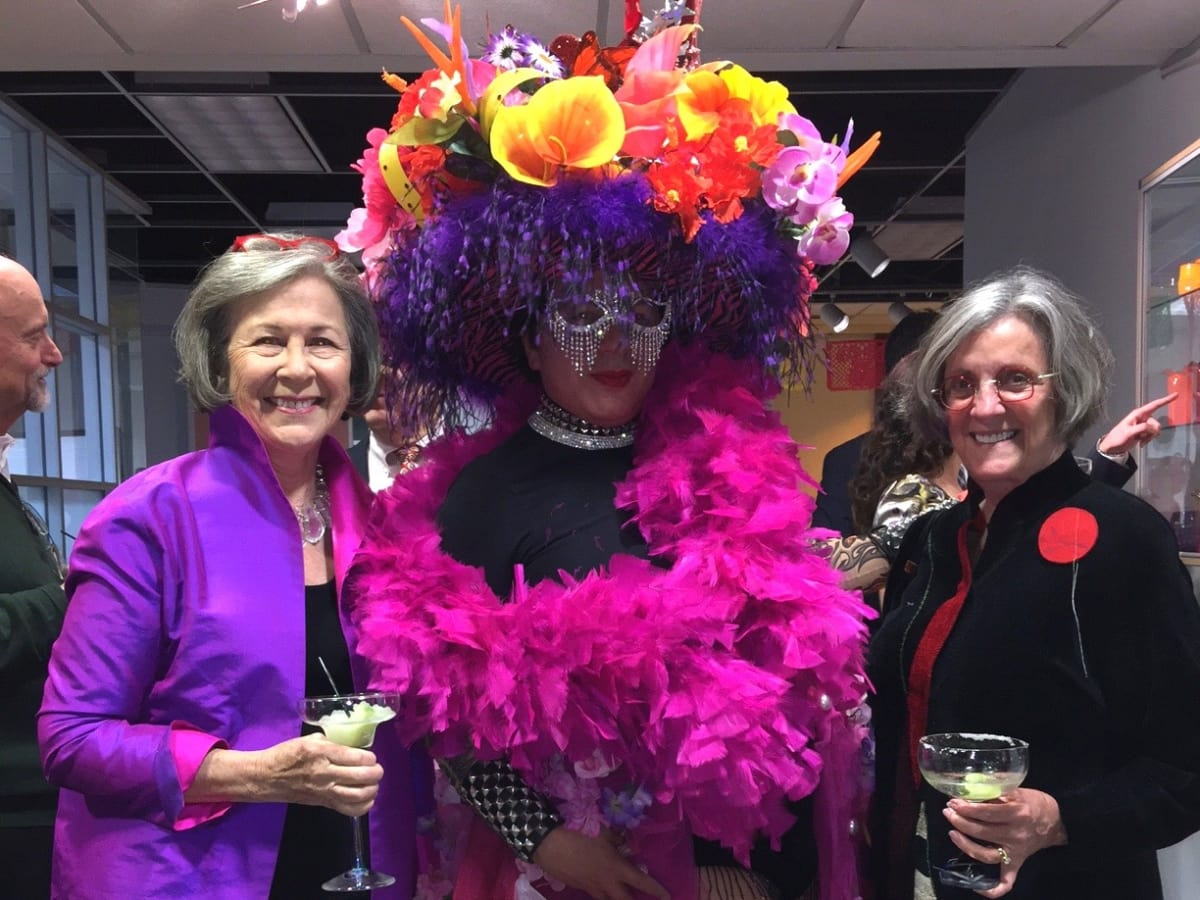 Center for Contemporary Craft, Margarita Madness, Jan. 2016, Kathryn Rabinow, J. Michael Solis, Sarah Morgan