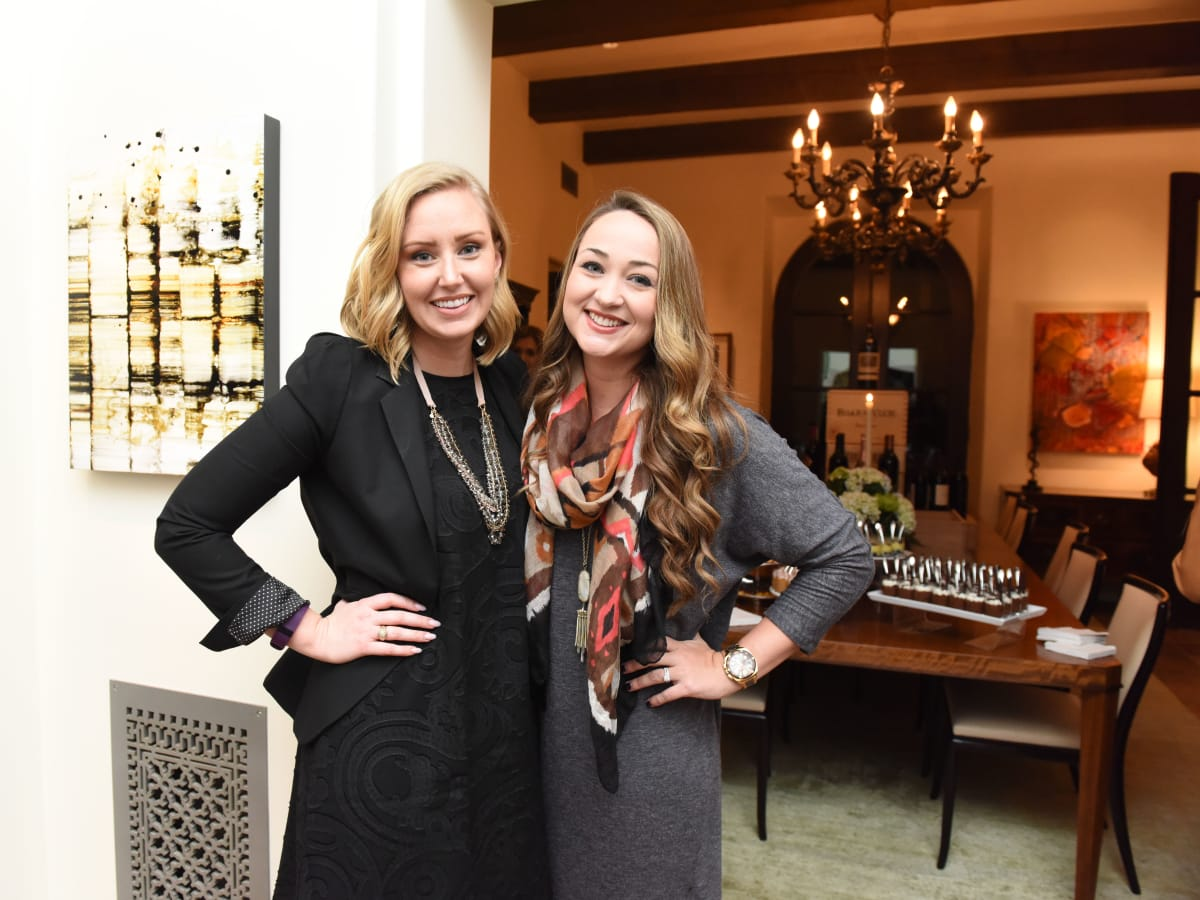 Houston, JDRF Promise Ball kick off party, January 2016, Kristin Putnam, Haley Depping