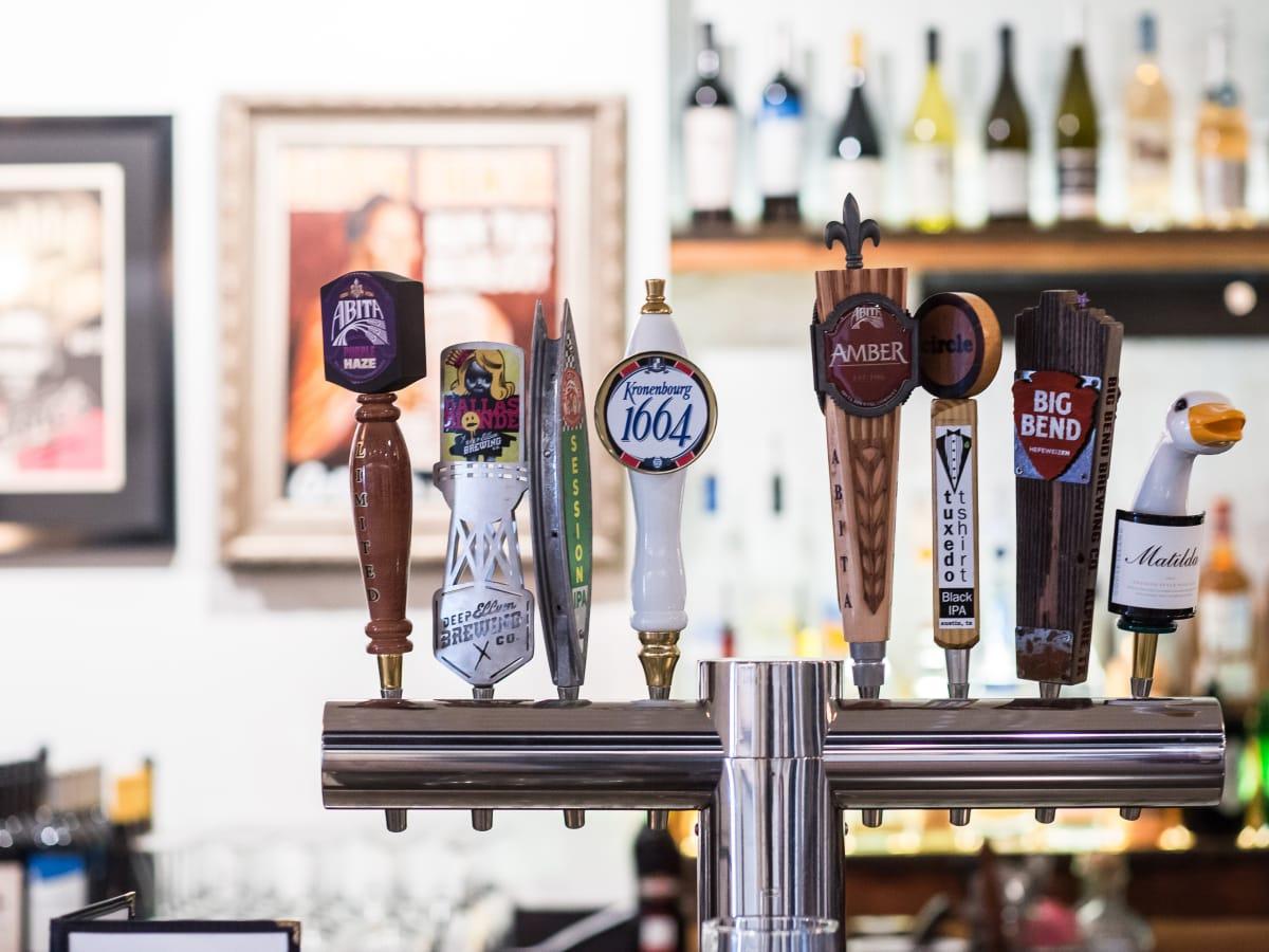 Antone's downtown venue Fifth Street 2016 bar beer tap